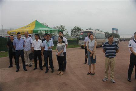 五通桥区:绍兴市对口帮扶考察团来桥考察工作