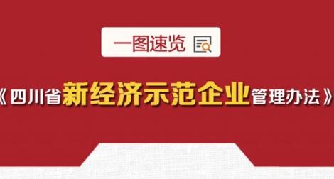 解读丨一图速览 四川省新经济示范企业管理办法这些亮点值得关注