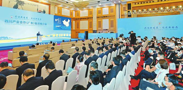 在5大重点领域,粤川两省全面战略合作 共建泛珠高铁经济带